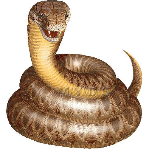 ... し・みどし)・蛇のイラスト集